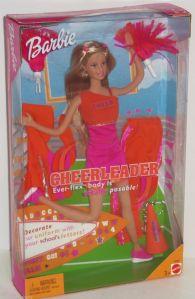 2001 Barbie Cheerleader