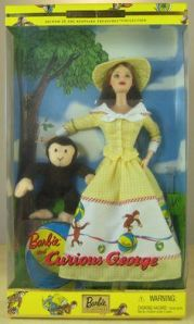 2001 Barbie® and Curious George