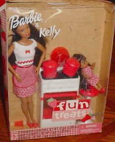 2001 Fun Treats, Barbie and Kelly Giftset aa