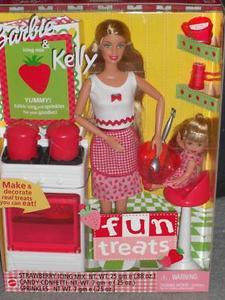 2001 Fun Treats, Barbie and Kelly Giftset n2