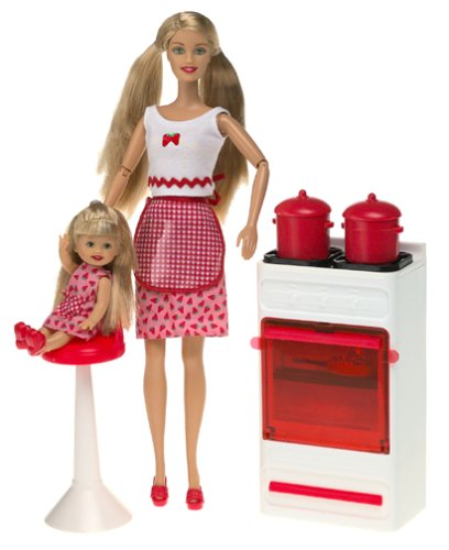2001 Fun Treats, Barbie and Kelly Giftset