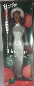 2001 Holiday Excitement Barbie aa