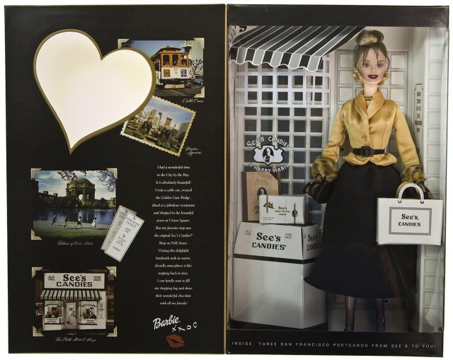 2001 I Left My Heart in San Francisco See's Candies Special Edition