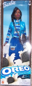 2001 oreo barbie doll aa