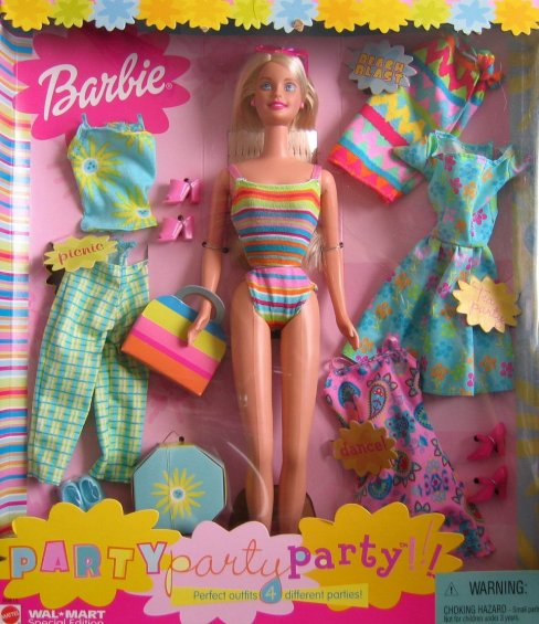 2001 Party Party Party Barbie