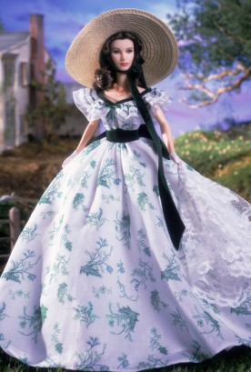 2001 Scarlett O'Hara Doll Barbecue at Twelve Oaks