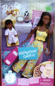 2001 Sleepover Girls Barbie & Kelly Giftset  Wal-Mart