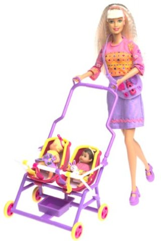 2001 Stroll 'n Play! Barbie and Krissy Giftset.