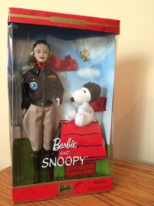 2002 Barbie® Doll and Snoopy n