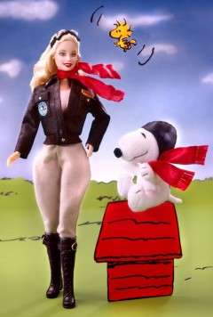 2002 Barbie® Doll and Snoopy
