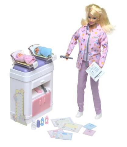 2002 Happy Family Baby Doctor, Barbie Doll. f