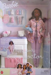 2002 Happy Family Baby Doctor, Barbie Doll.