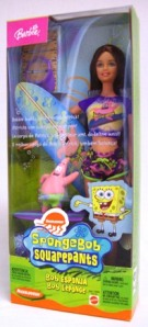 2003 Barbie Doll Sponge Bob Squarepants h