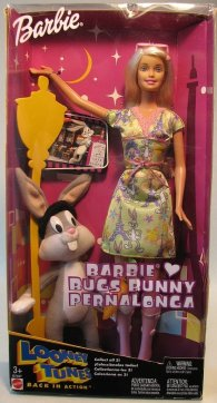 2003 Looney Tunes Loves Bugs Bunny, Barbie Doll.