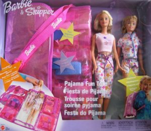 2003  Pajama Fun Tote Playset
