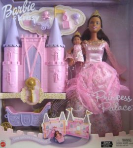 2003 Princess Palace Barbie and Krissy aa