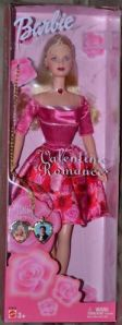 2003 Valentine Romance Barbie Doll