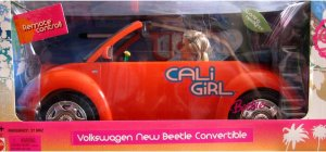 2004 Cali Girl Barbie and Volkswagen