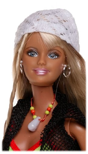 2004 Cali Girl Barbie face