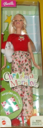 2004 Christmas morning barbie doll
