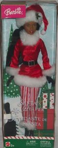 2004 Santa's Helper Barbie aa