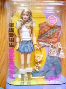 2005 Barbie FASHION FEVER mix v