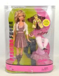 2005 Barbie FASHION FEVER mix