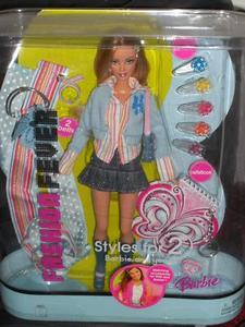 2005 Barbie FASHION FEVER Styles for 2