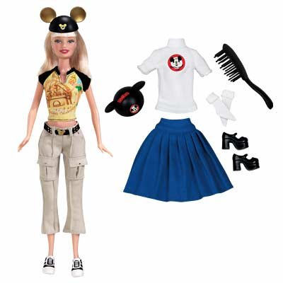 2005 Disney Mouseketeers Barbie 50th Anniversary f