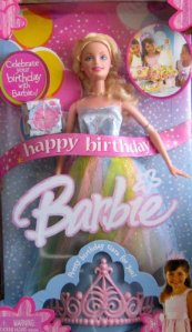 2005 Happy Birthday Barbie Doll