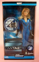 2006 Invisible Woman Barbie Fantastic