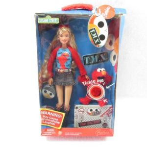 2006 T. M. X. Tickle Me Elmo and Barbie