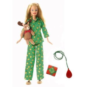 2006 Target Exclusive Christmas Morning Barbie Doll