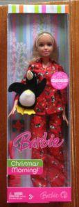 2007-Barbie-Doll-Christmas-Morning-Penguin