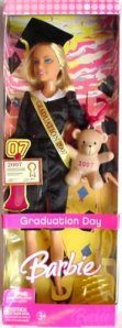 2007 barbie Graduation Day n