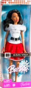 2007 Holiday Wishes Barbie aa