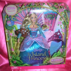 2007 The Island Princess Princess Rosella Doll n
