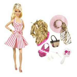 2008 Barbie Top Model Resort