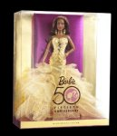 2009 50th Anniversary, Barbie® Doll aa n