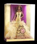 2009 50th Anniversary, Barbie® Doll aa n