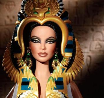 2010 Cleopatra, Barbie Doll f