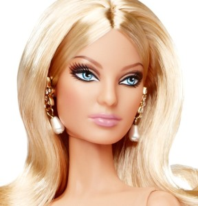 2010 Glimmer of Gold, Barbie Doll.