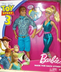 2010 Toy Storry 3 - Animal Lovin' Ken & Great Shape Barbie Gifset