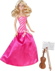 2013 BARBIE I CAN BE… Violinist.