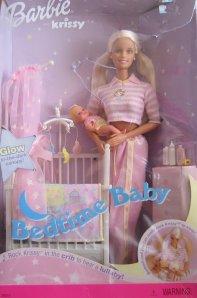 2000 Bedtime Baby, Barbie & Krissy Giftset.