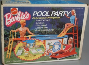 1972 Barbie Swimming Pool,