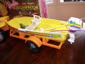 1973 Barbie Going Boating set