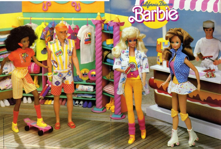 1987 California Dream BARBIE