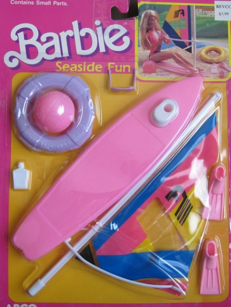 1988 Barbie Seaside Fun Playset