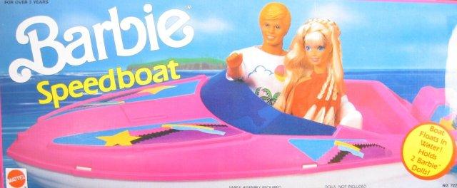 1990 Barbie Speedboat (Arco Toys - Mattel)